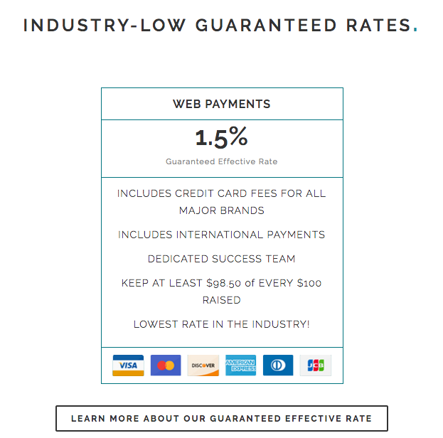 Industry-Low Guaranteed Rates